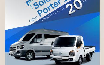 Hyundai Thái Nguyên khuyến mại 20 triệu đồng cho 2 sản phẩm xe thương mại