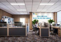 Văn phòng làm việc trung tâm điều hành hàng không