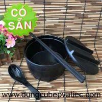 Thố đựng cơm trộn Hàn Quốc bằng melamine