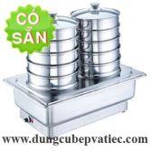 Lò dimsum để bàn buffet 5 tầng dùng điện RWK7055