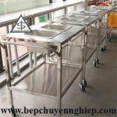 Xe đẩy inox công nghiệp Thiên Đô