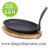 Dĩa gang oval chống dính Việt Nam
