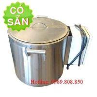 Nồi inox nấu nước-nấu canh-hầm xương 70 lít bằng điện