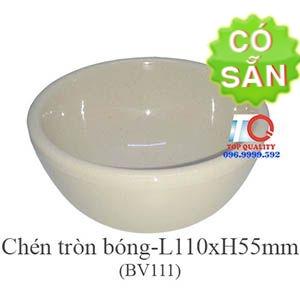 Chén melamine màu nâu đá BV111-4.3