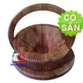 Giỏ gỗ xếp đựng bánh mứt trái cây KG1-35-DT