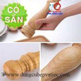 Dụng cụ xay nghiền tiêu cầm tay bằng gỗ size lớn