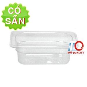 Khay nhựa đựng topping GN 1/9x65