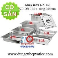 Khay GN 1/2, khay inox
