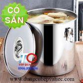 Thùng ủ inox giữ nhiệt nắp bằng 32 lít