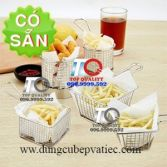 Rọ giỏ French Fries inox