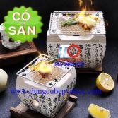 Lò nướng đất nung kiểu Nhật Bản