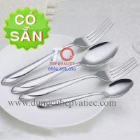 Bộ dao muỗng nĩa inox 304 cho nhà hàng cao cấp-mẫu kim cương