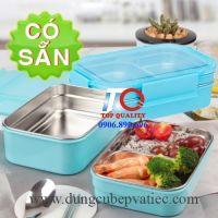 Hộp cơm giữ nhiệt inox 304 an toàn vệ sinh thực phẩm