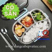 Khay cơm inox 304 giữ nhiệt an toàn thực phẩm