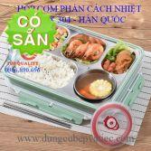 Hộp đựng cơm cách nhiệt-Hàn Quốc inox 304