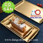 Mâm đựng trái cây bánh ngọt mạ vàng cao cấp 159