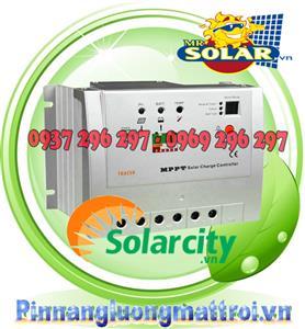 Điều khiển sạc năng lượng mặt trời MPPT60A 48v Auto