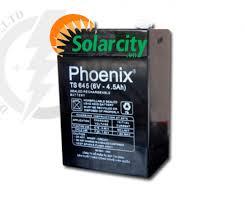 Ắc Quy Phoenix Kín Khí CN 6V-4.5Ah (TS645)