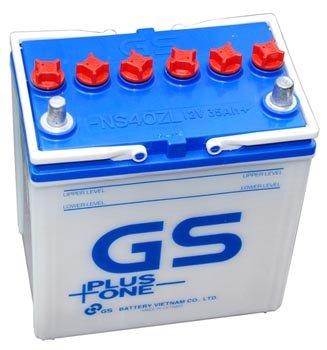 Ắc Quy GS Nước 12v-60Ah (55D23R/L)