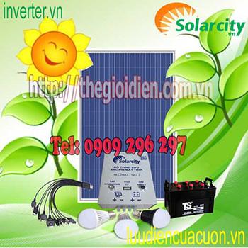 Bộ Phát Điện Mặt Trời Combo25plus