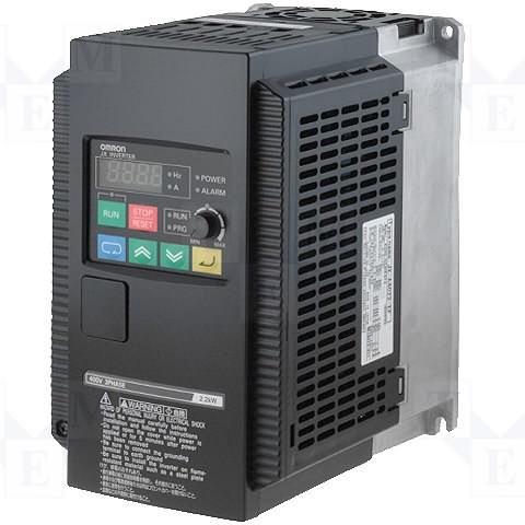 BIẾN TẦN OMRON 3G3MX2 0.4KW, VÀO 1P/3P RA 3P 220V.
