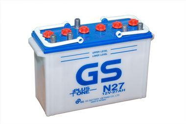 Ắc Quy GS Nước 12v-27Ah (N27)