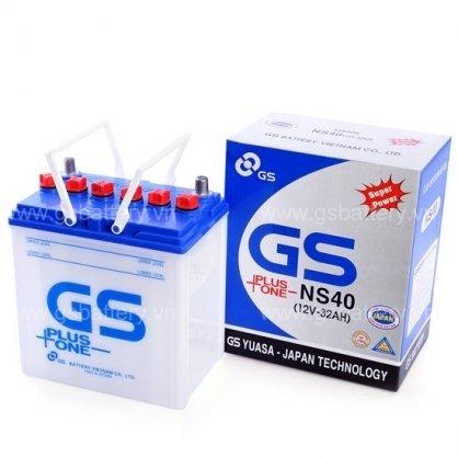Ắc Quy GS Nước 12v-32Ah (NS40)