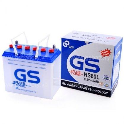 Ắc Quy GS Nước 12v-45Ah (NS60L)