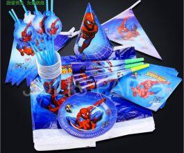 Set Đồ Sinh Nhật  8 Món Spiderman