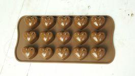 Khuôn Chocolate Trái Tim (10,5x21,2x2cm)