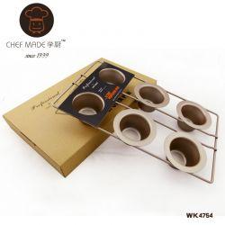 Chefmade - khuôn Popover 6 lỗ