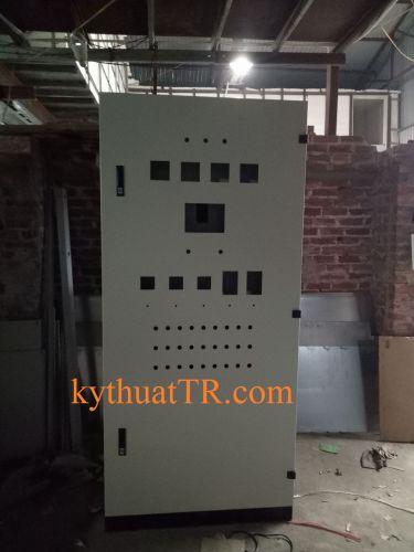 Tủ điện điều khiển nhà máy xử lý rác 2200x1000x1000