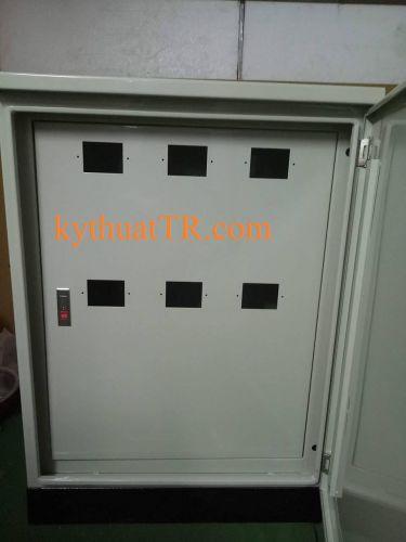 Vỏ tủ điện lắp 6 công tơ ngoài trời