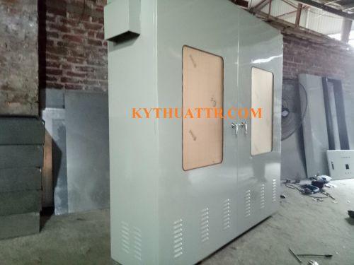 Tủ điện ngoài trời 2100x1800x500x2mm