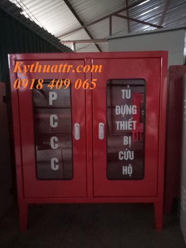 Vỏ tủ đựng đồ PCCC ngoài trời KT 900x750x250x1.2mm