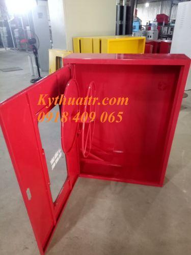 Tủ PCCC có rulo và 01 giá vòi phụ KT 1000x750x200