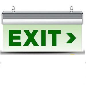 Đèn exit thoát nạn 1 mặt