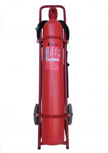 Bình chữa cháy xe đẩy Kingdom CO2 24kg MT24
