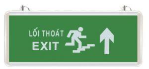 Đèn exit thoát nạn chỉ hướng lên