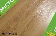 Sàn gỗ Micton A35 - Malaysia 808x96x12.3mm