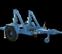 Chân đỡ cuộn dây cáp điện tải trọng 4 tấn có bánh xe