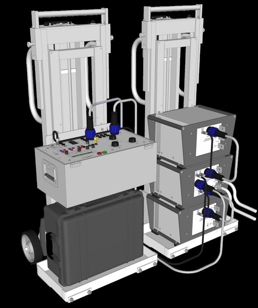 Hợp bộ tạo dòng thử nghiệm máy cắt 3 pha