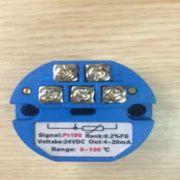 Bộ chuyển đổi tín hiệu can Pt100 (0-100 °C)