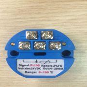 Bộ chuyển đổi tín hiệu can Pt100 (0-200 °C)