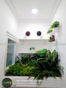 Vườn cây xanh giả chung cư A3 Vinhome gardenia