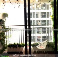 Mẫu ban công chung cư nhỏ - Chung cư Parkhill