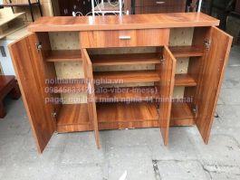 tủ giày gỗ công nghiệp 120x85x32