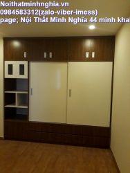 tủ áo 240x240x60 2 tầng cánh