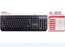 Bàn phím có dây cổng USB Glatten K83