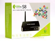 KIWIBOX S8 PRO RAM 3GB chip 8 nhân 64-bit Amlogic S912